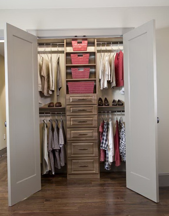 Closet shelving ideas small closets home design ideas Small closet shelving ideas