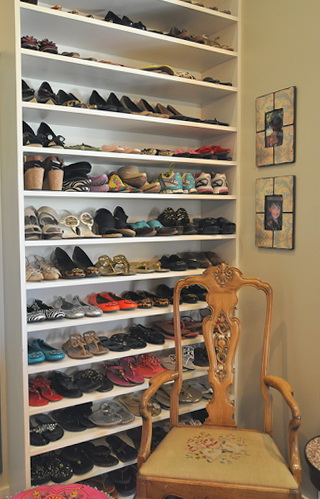 Closet Shoe Rack Plans