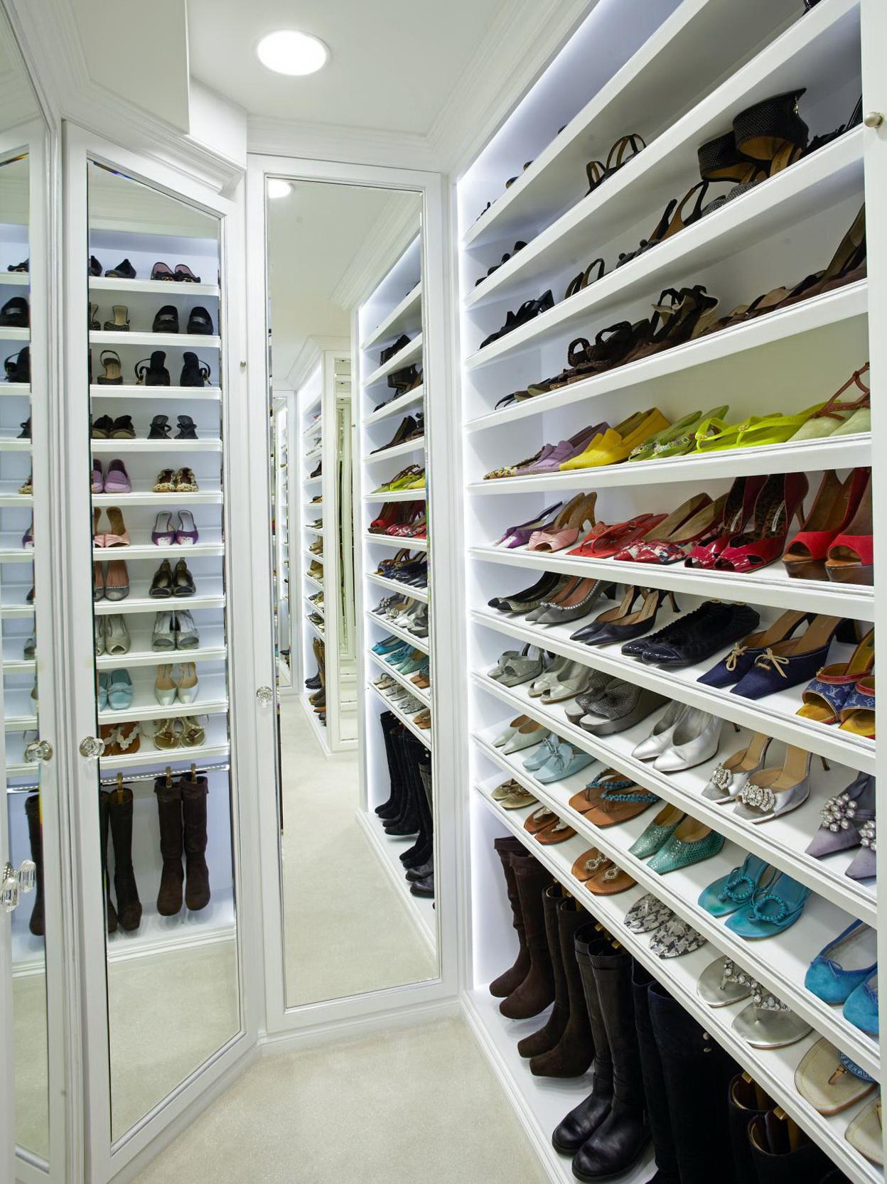Closet Storage Ideas Shoes