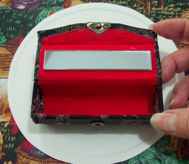 Coach Lipstick Case With Mirror
