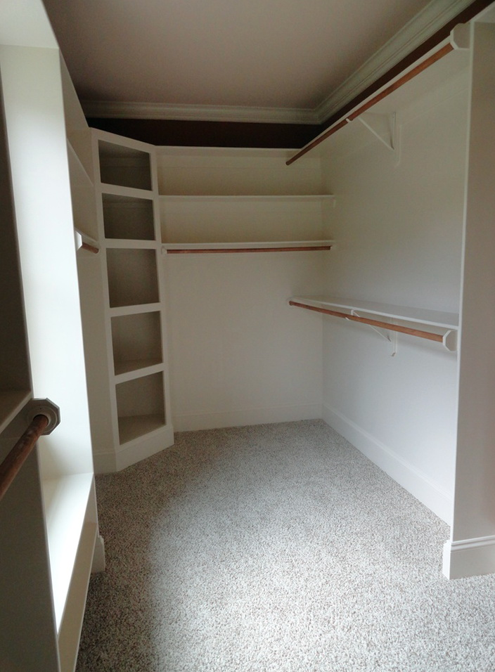 Corner Closet Shelves Diy Home Design Ideas