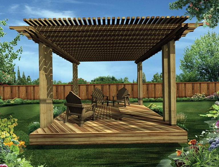 Covered Deck Plans Free