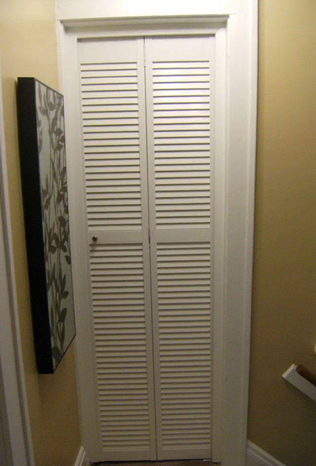 Custom Louvered Bifold Closet Doors Home Design Ideas