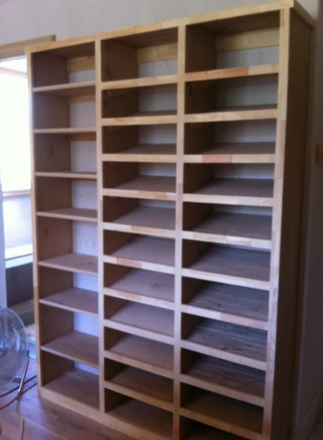 Custom Shoe Racks For Closet