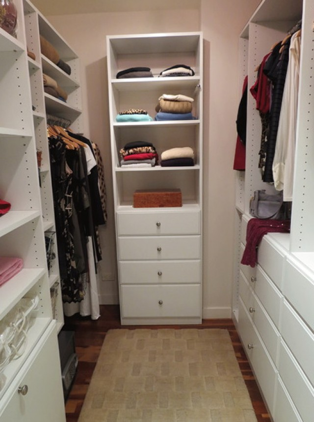 Custom Walk In Closet Design