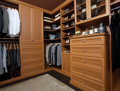 Custom Walk In Closet Systems