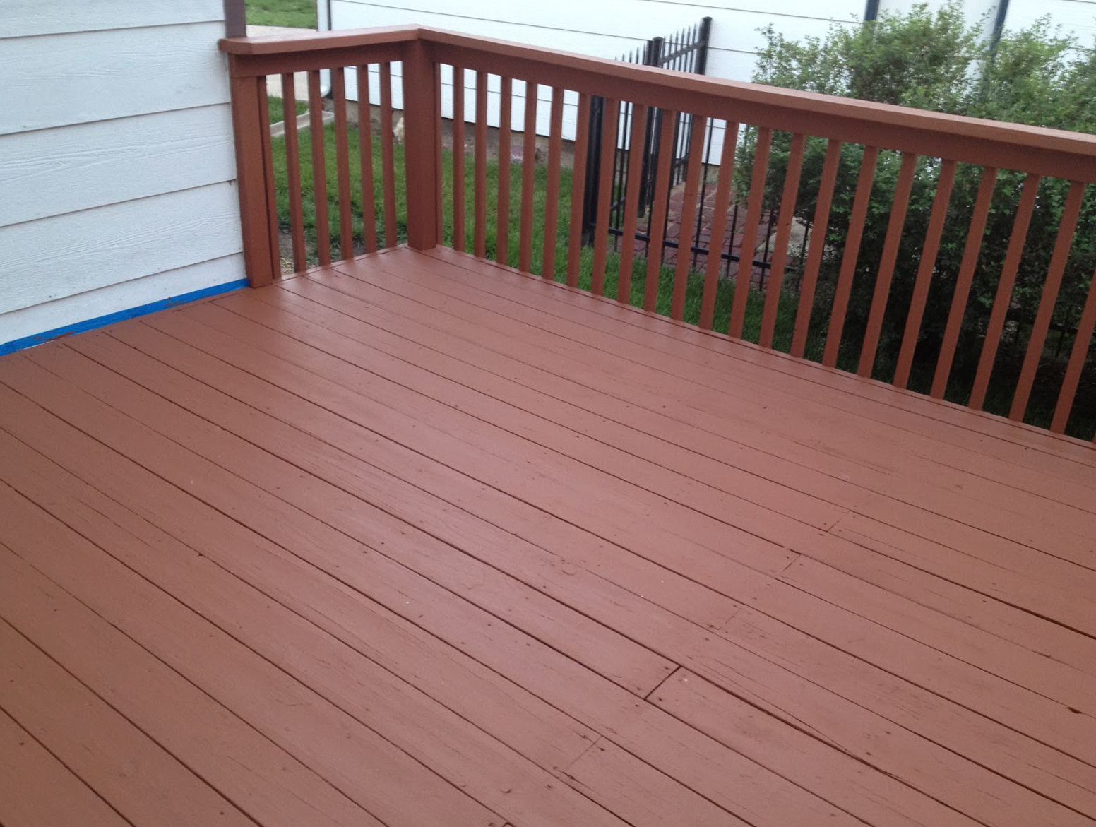 Deck stain colors home depot home design ideas for Deck paint colors home depot