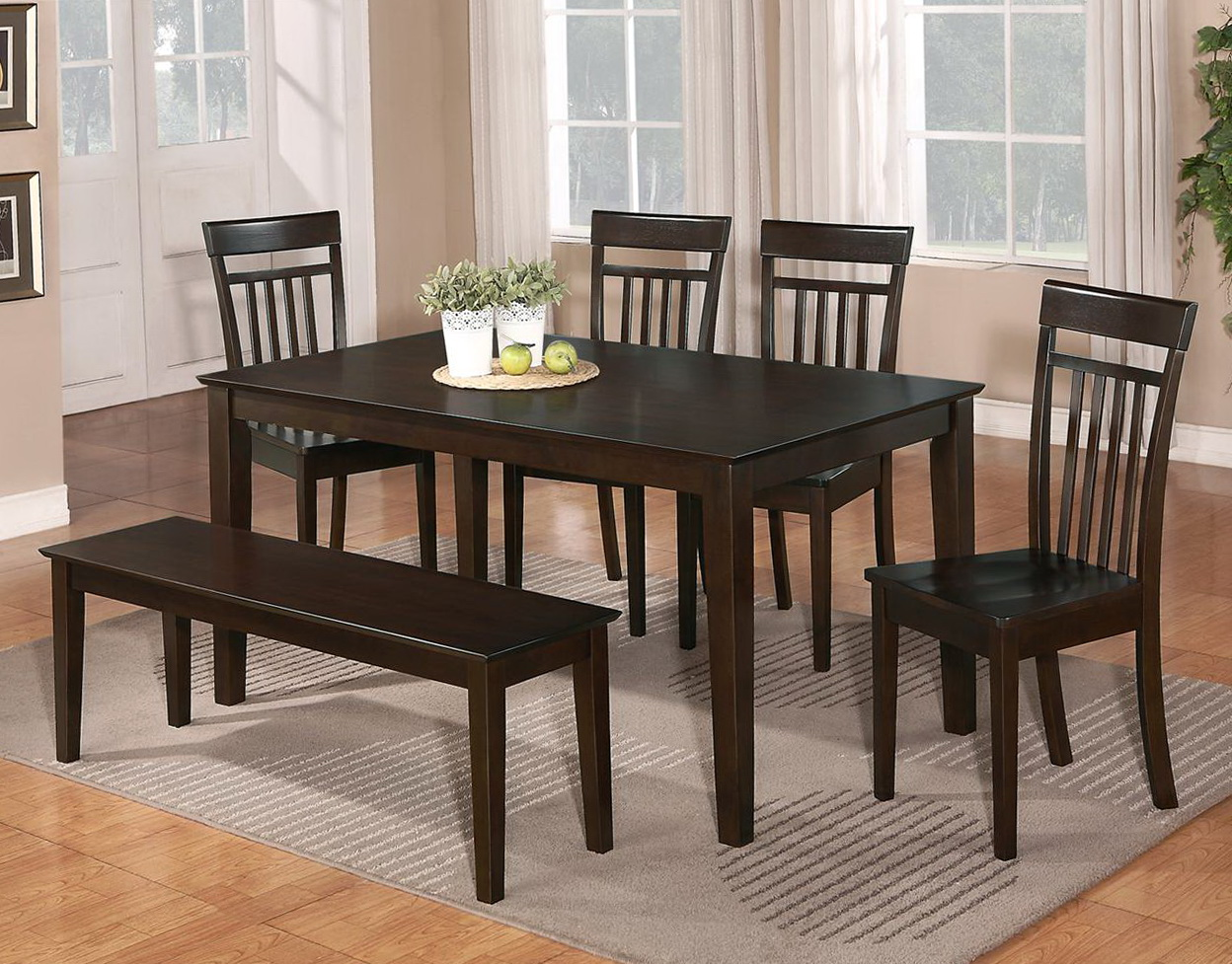 Dining Room Tables With Benches And Chairs Home Design Ideas