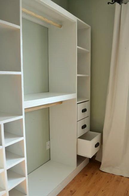 Diy Closet Shelves Plans