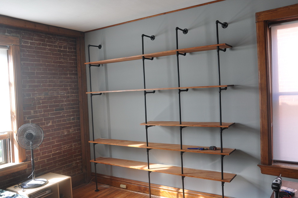 Diy Closet Shelves Wood