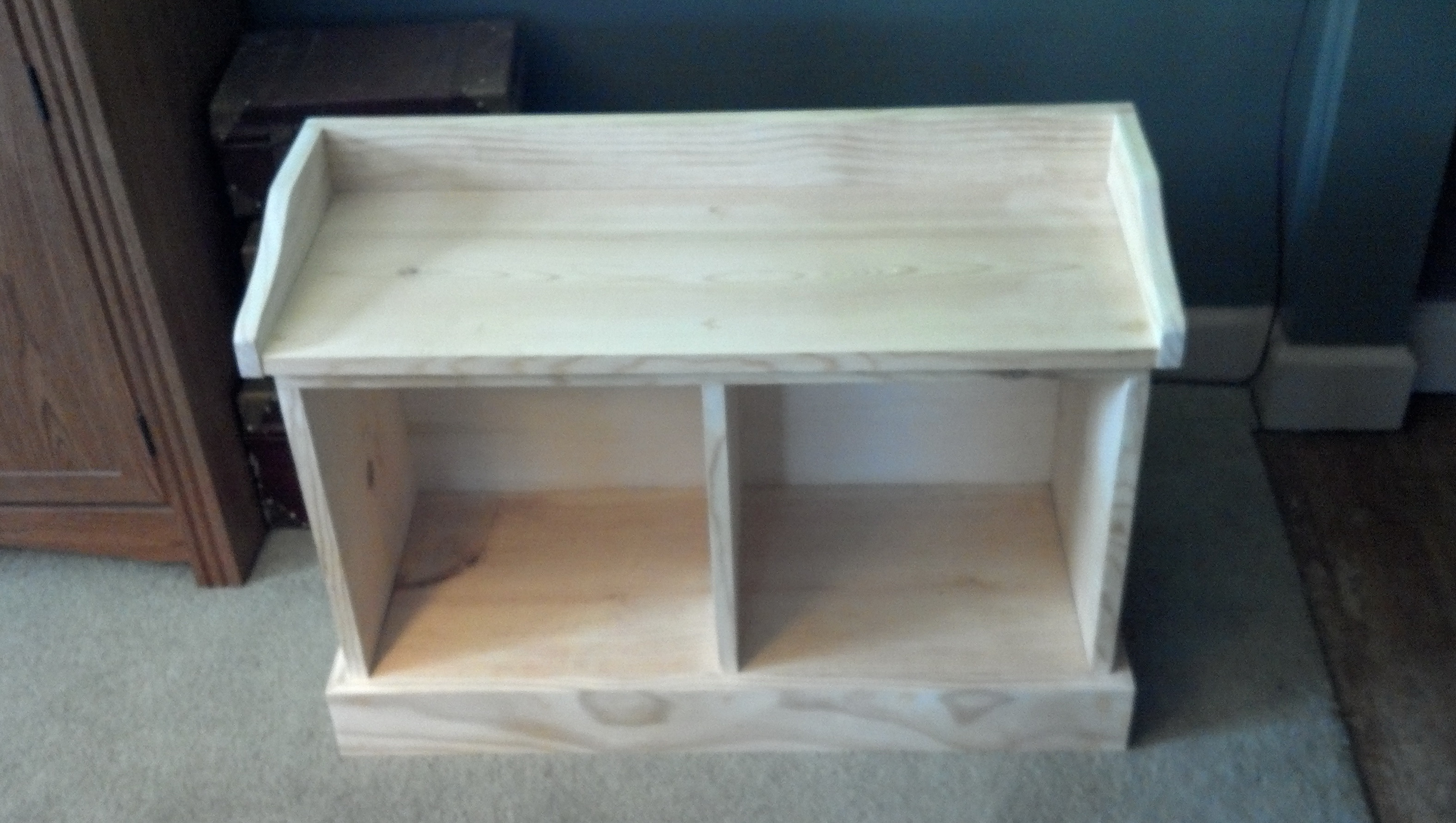 Diy Entryway Bench And Shelf