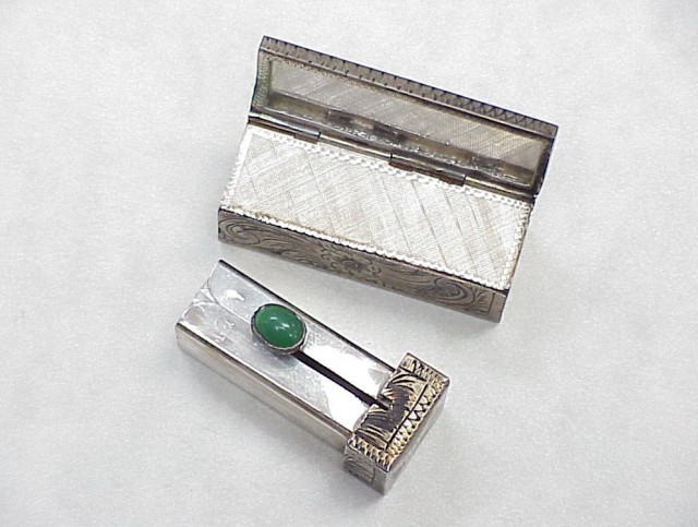 Double Lipstick Case With Mirror