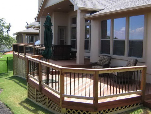 Elevated Covered Deck Plans