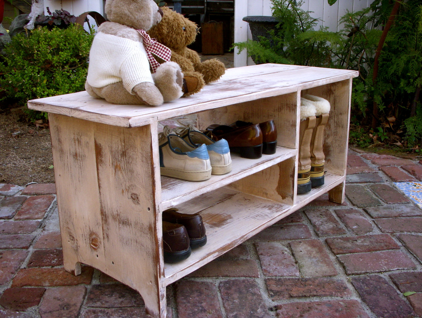 Entryway Shoe Bench Plans