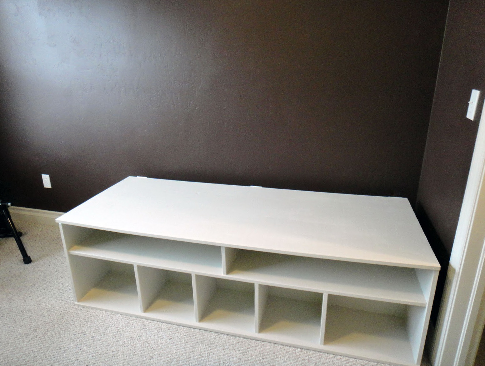 Extra Long Storage Bench Home Design Ideas