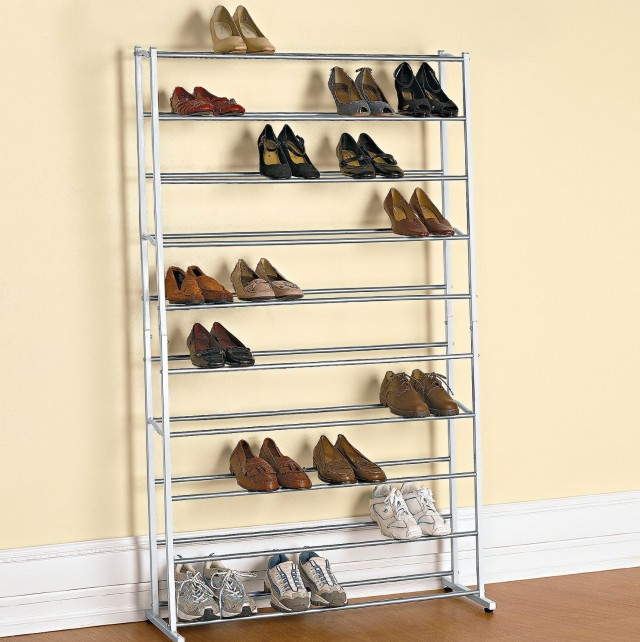 Floor Shoe Racks For Closets