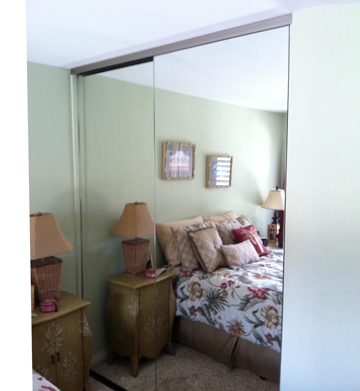 Frameless Beveled Mirror Target