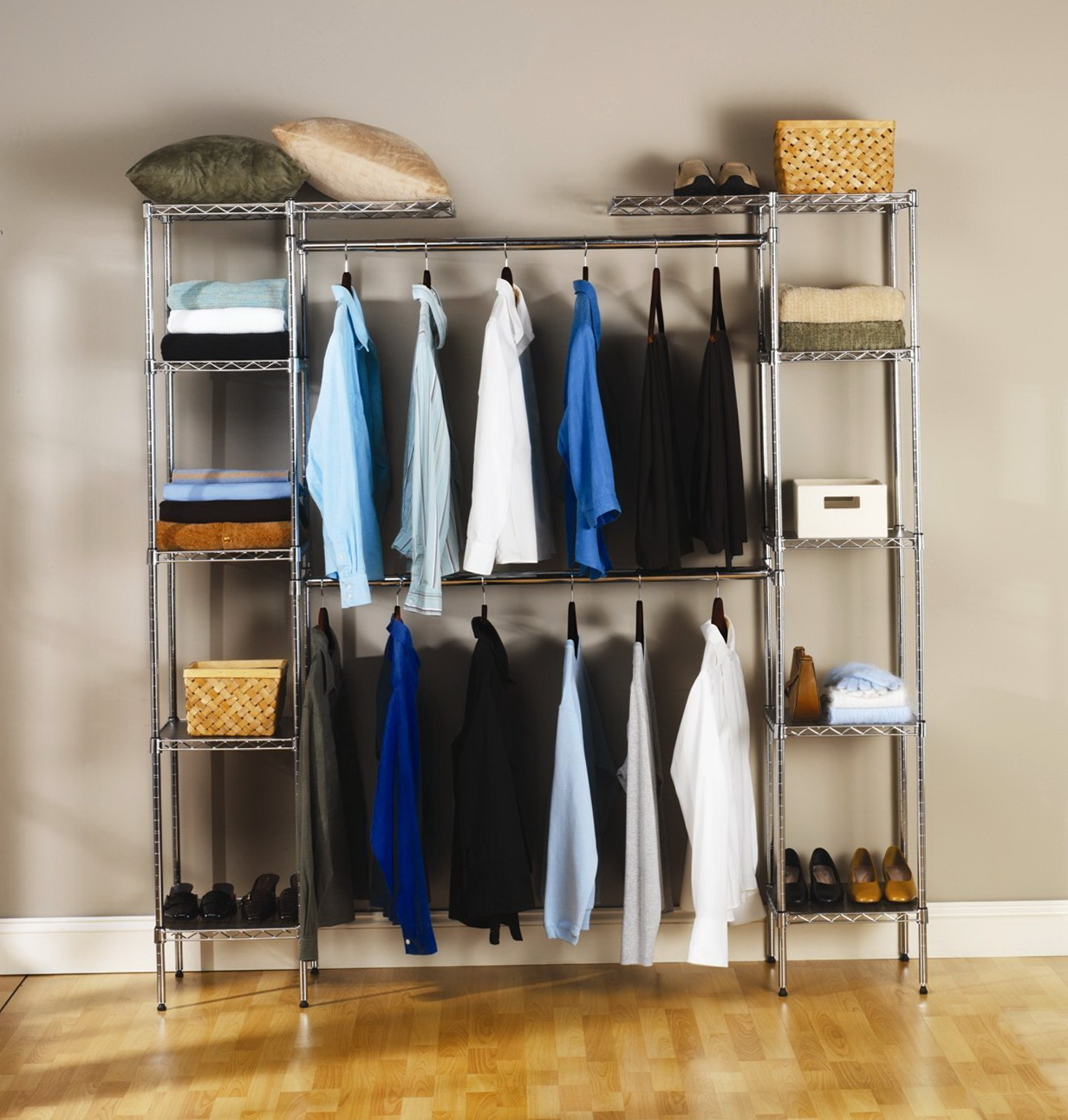 Free Standing Closet With Doors