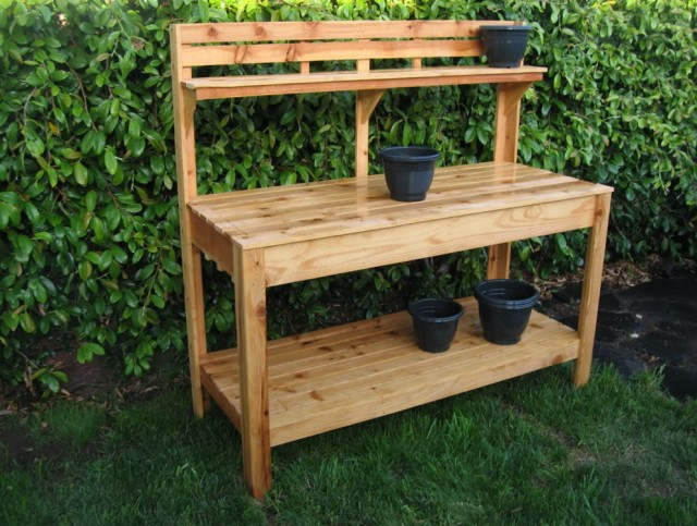 Garden Potting Bench Plans