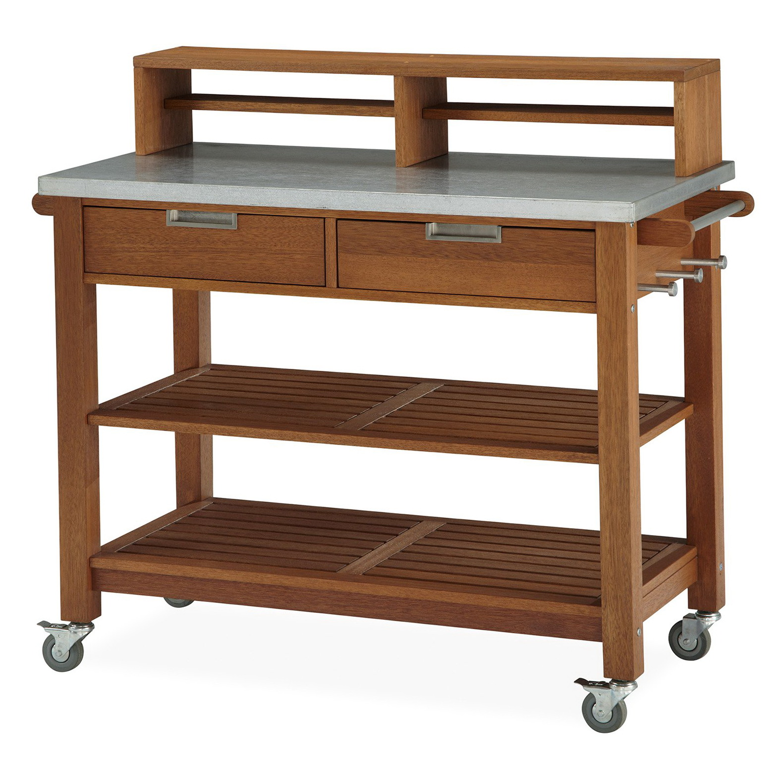 Garden Potting Bench With Storage