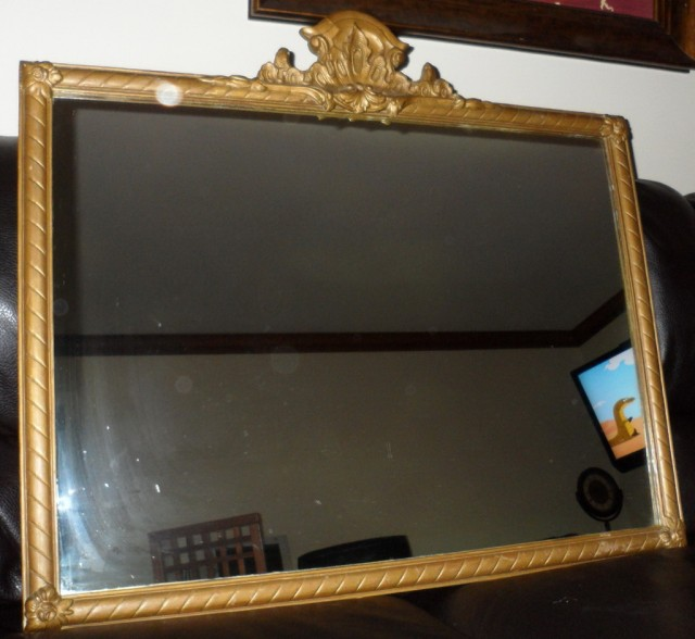 Gold Framed Mirrors Ebay
