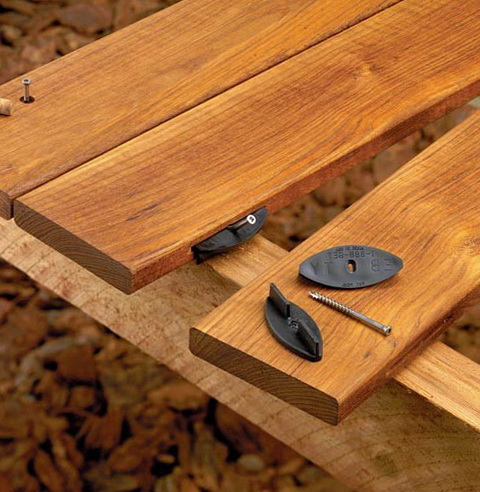 Hidden Deck Fasteners For Redwood Home Design Ideas