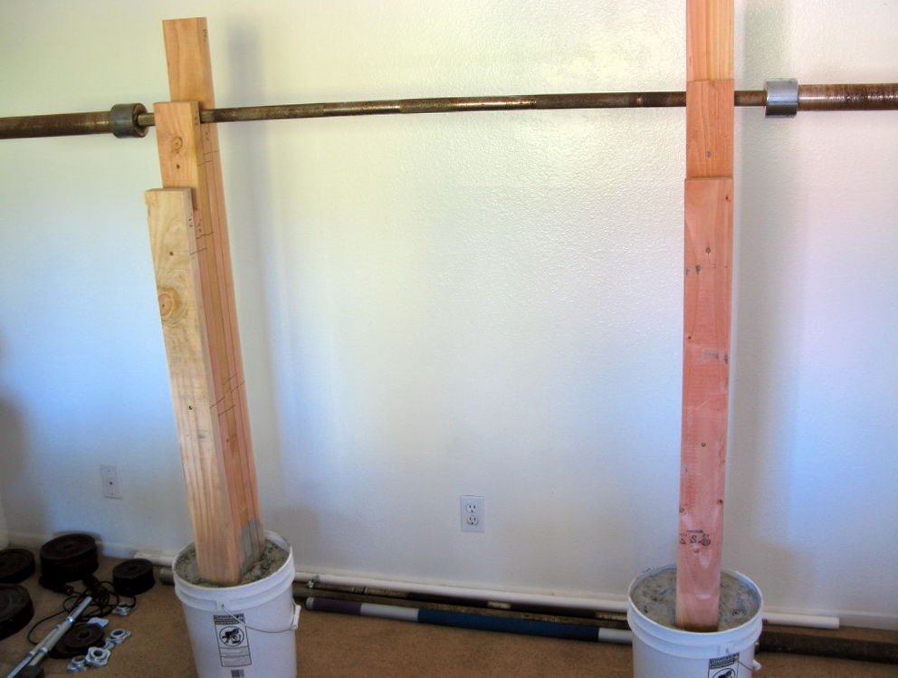 Homemade Bench And Squat Rack