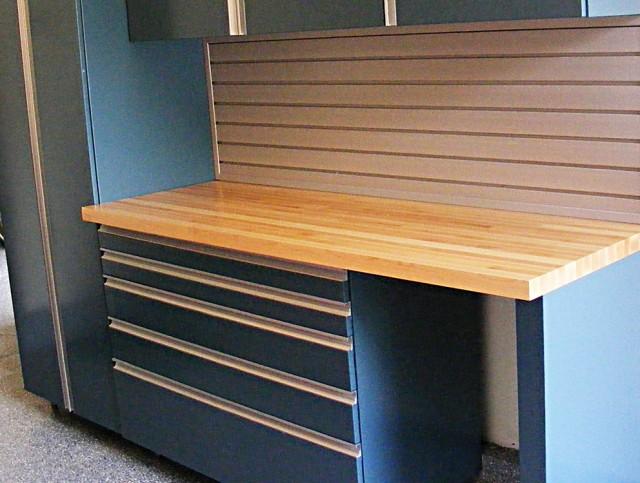 Homemade Steel Workbench