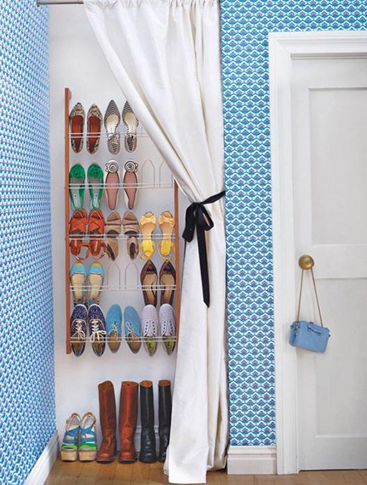 How To Make Shoe Racks For Closet