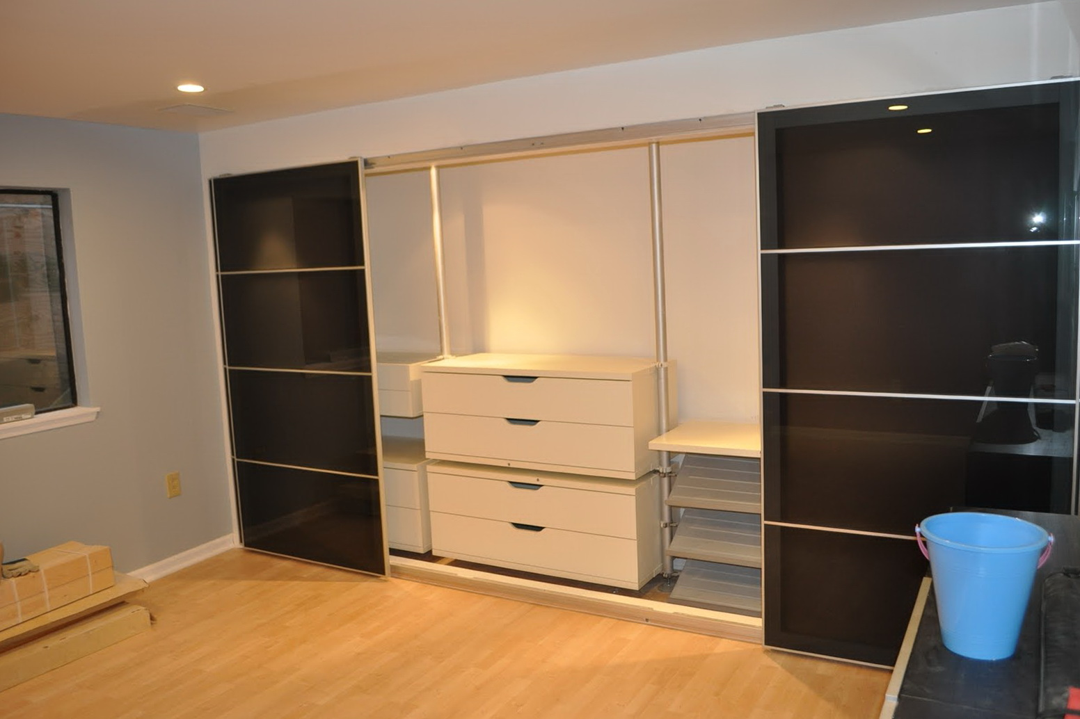 Ikea Closet System Hack Home Design Ideas