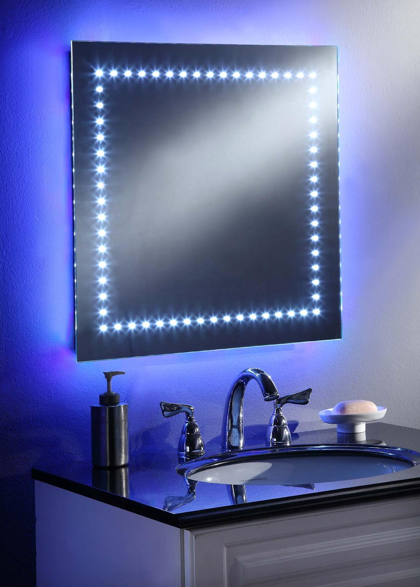 Ikea led bathroom mirror home design ideas - Illuminated bathroom mirrors ikea ...