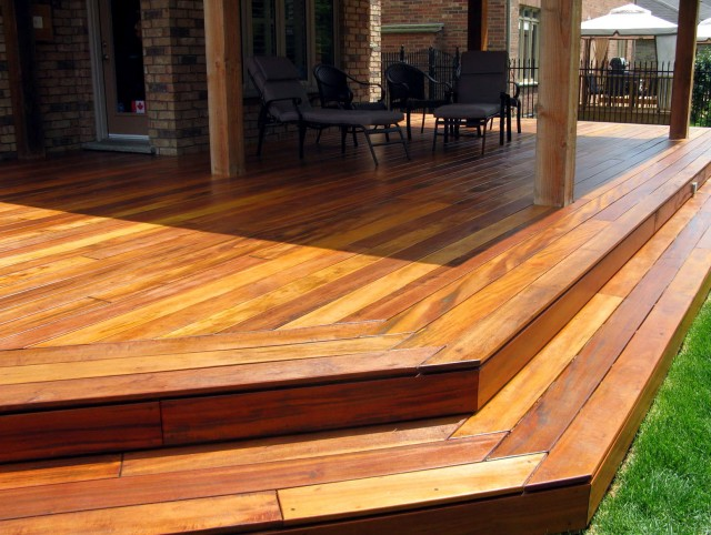 Ipe Wood Decking Sealer