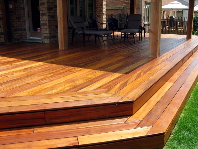 Ipe Wood Decking Sealer