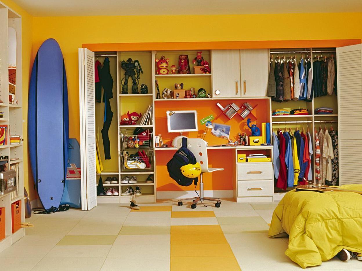 Kids Closet Organizer Ideas