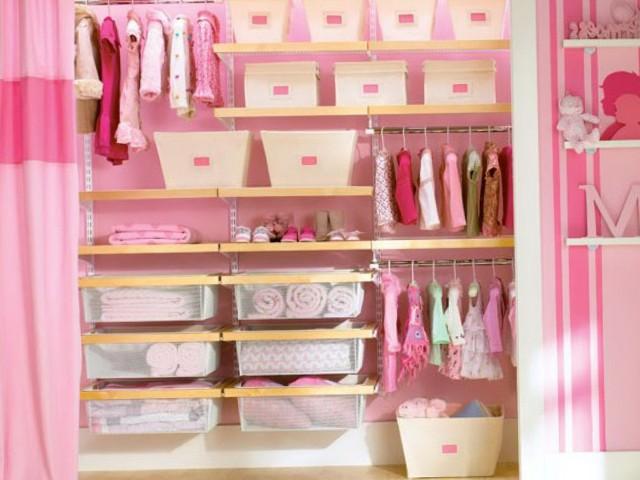 Kids Hanging Closet Organizer
