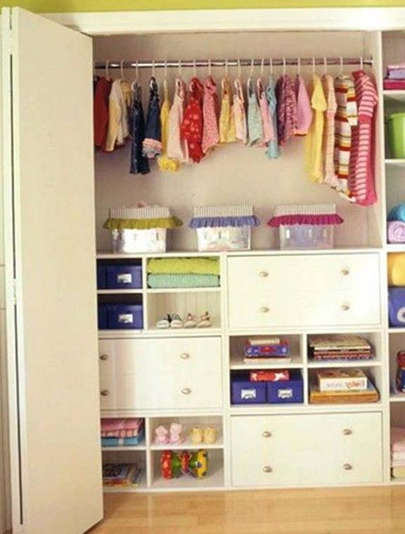 Kids Small Closet Organizer