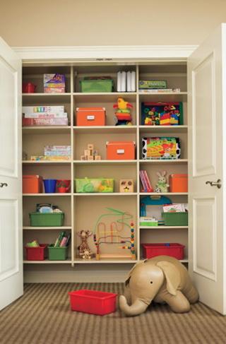 Kids Toy Closet Organizer
