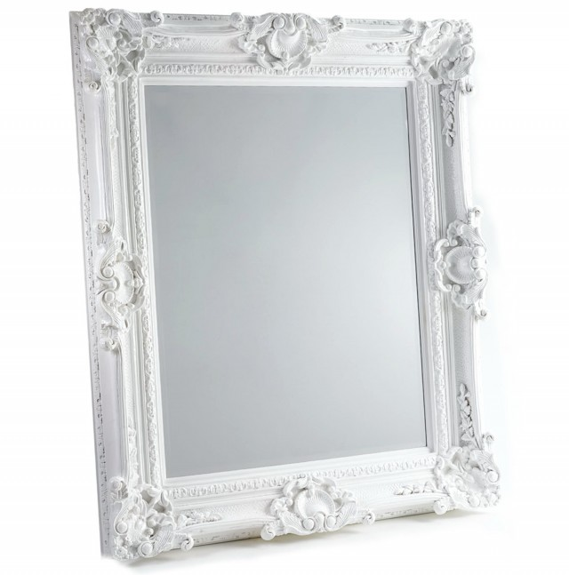 White Baroque Mirrors For Sale Home Design Ideas