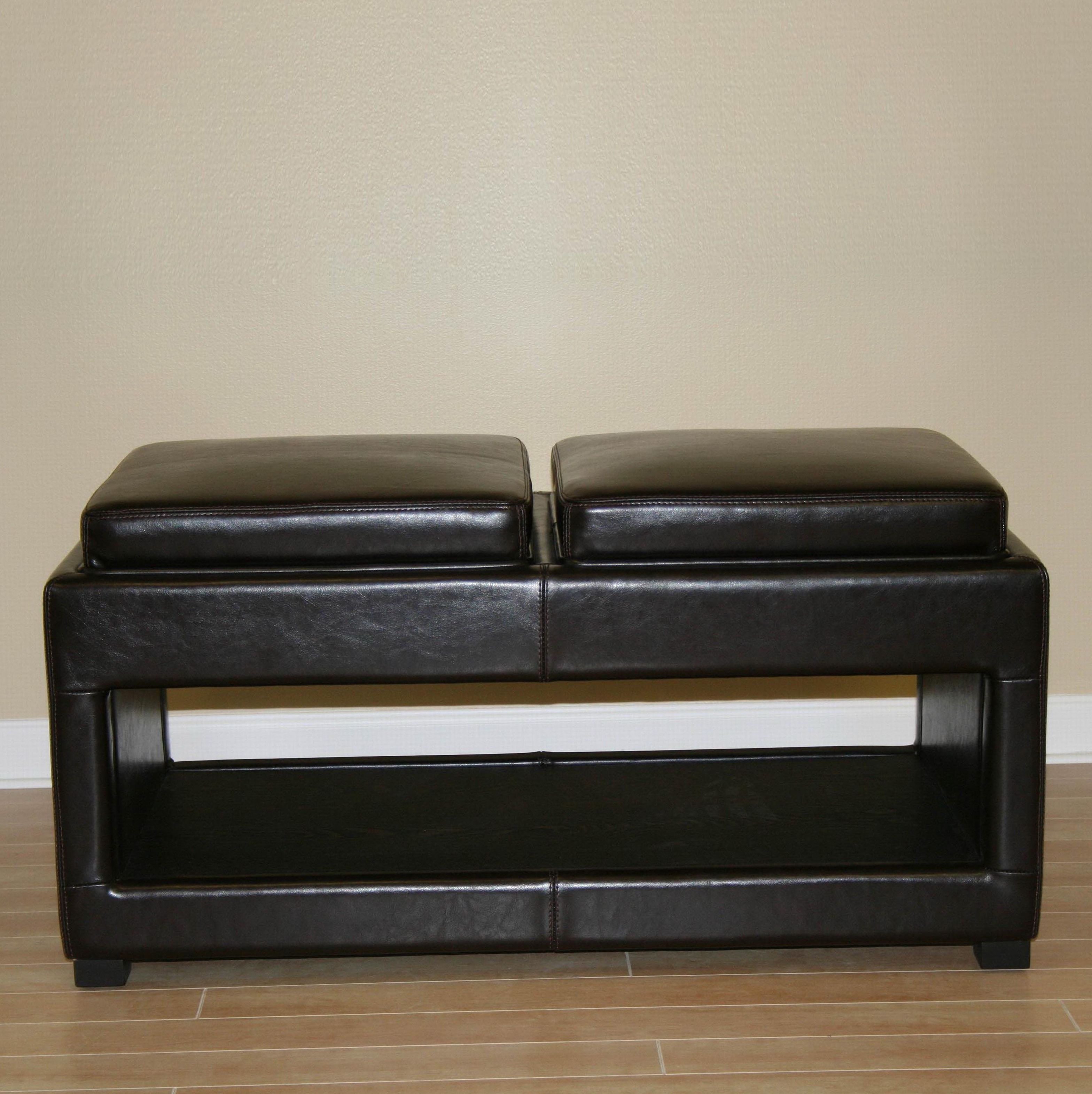Leather Bench Coffee Table Home Design Ideas