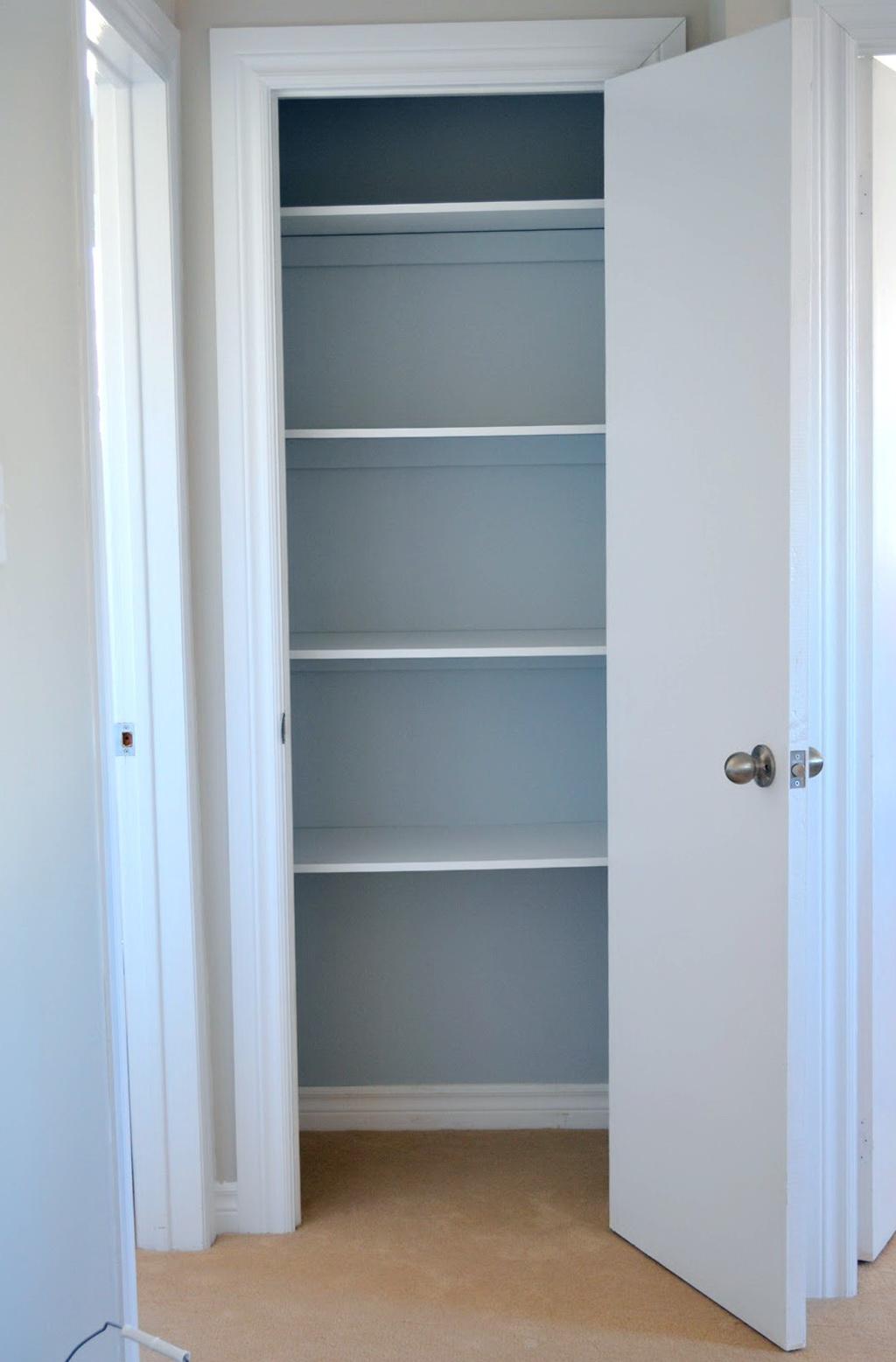 Linen Closet Shelving Ideas