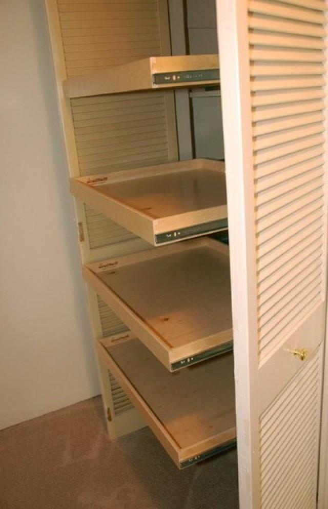 Linen Closet Shelving Systems
