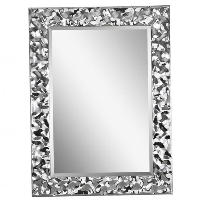 Long Silver Wall Mirror