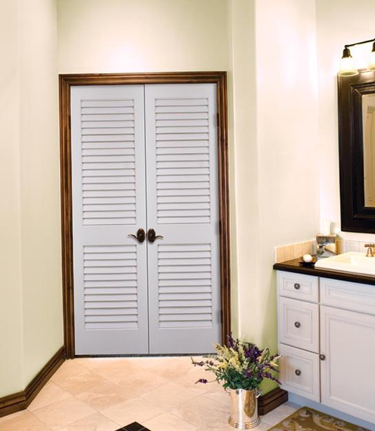 Louvered French Closet Doors Home Design Ideas