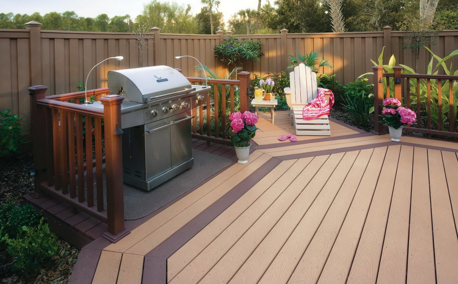 Lowes composite decking reviews home design ideas for Composite deck material reviews