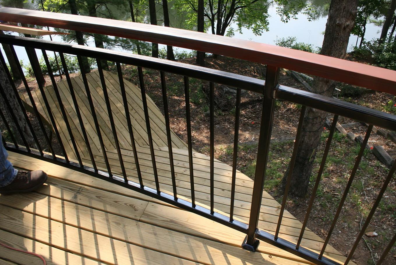 Metal Deck Railing Designs