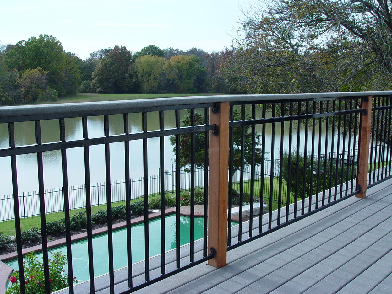 Metal Deck Railings Home Depot