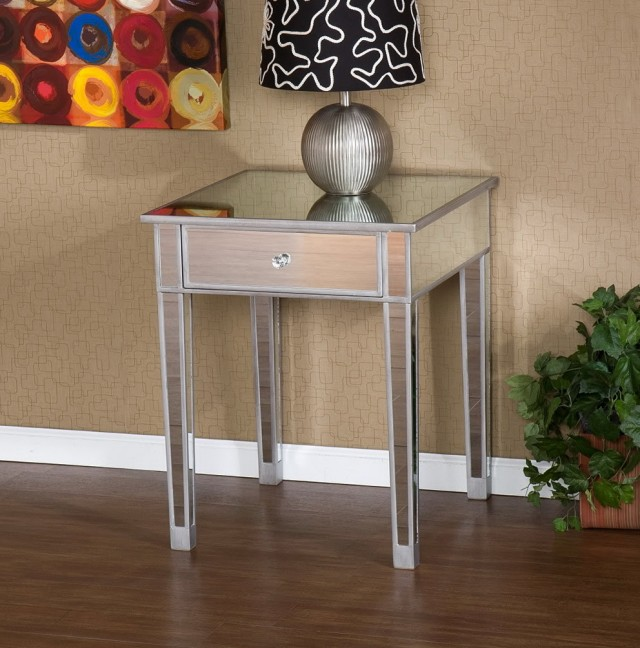 Mirror Accent Table Target