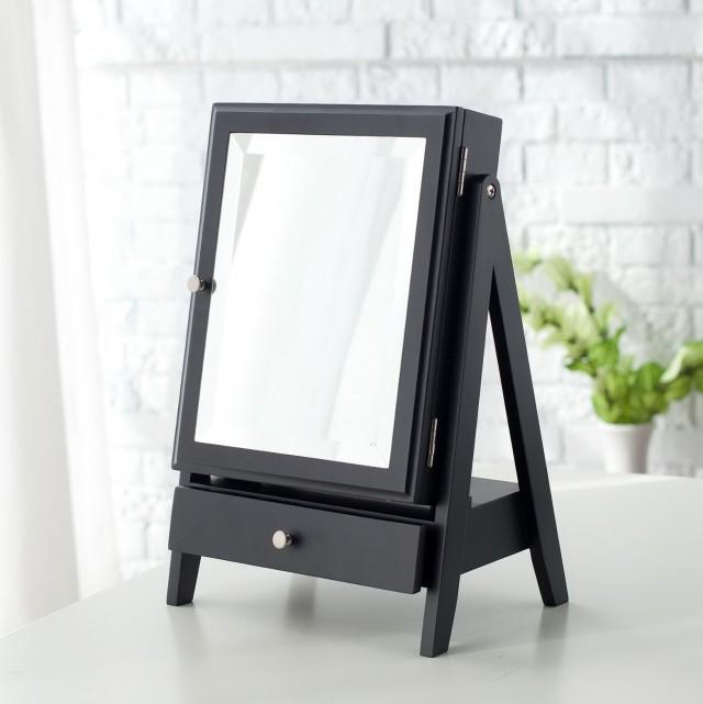 Diy Jewelry Organizer From Framed Mirror Home Design Ideas