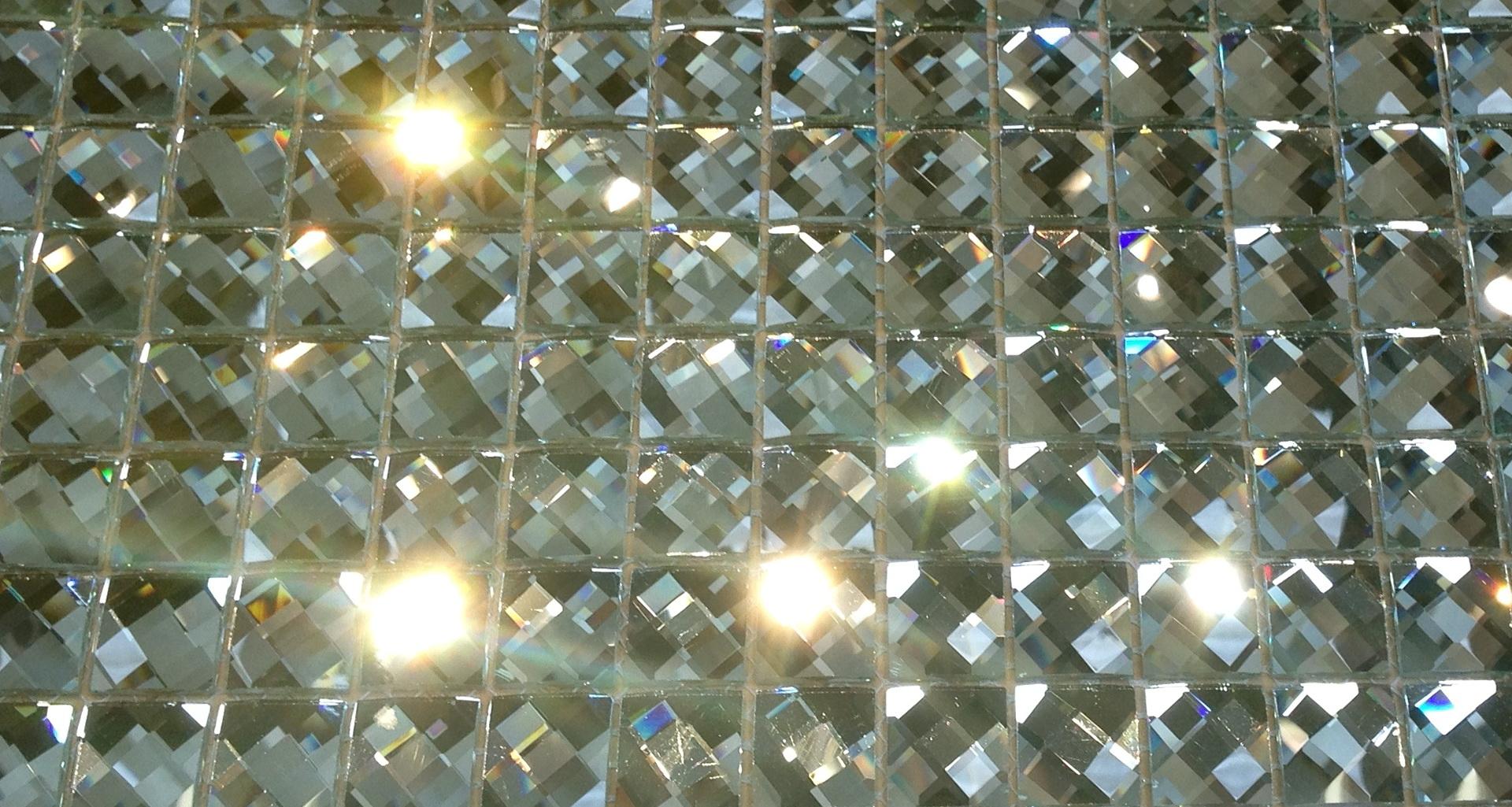 Mirror Mosaic Tiles On Mesh