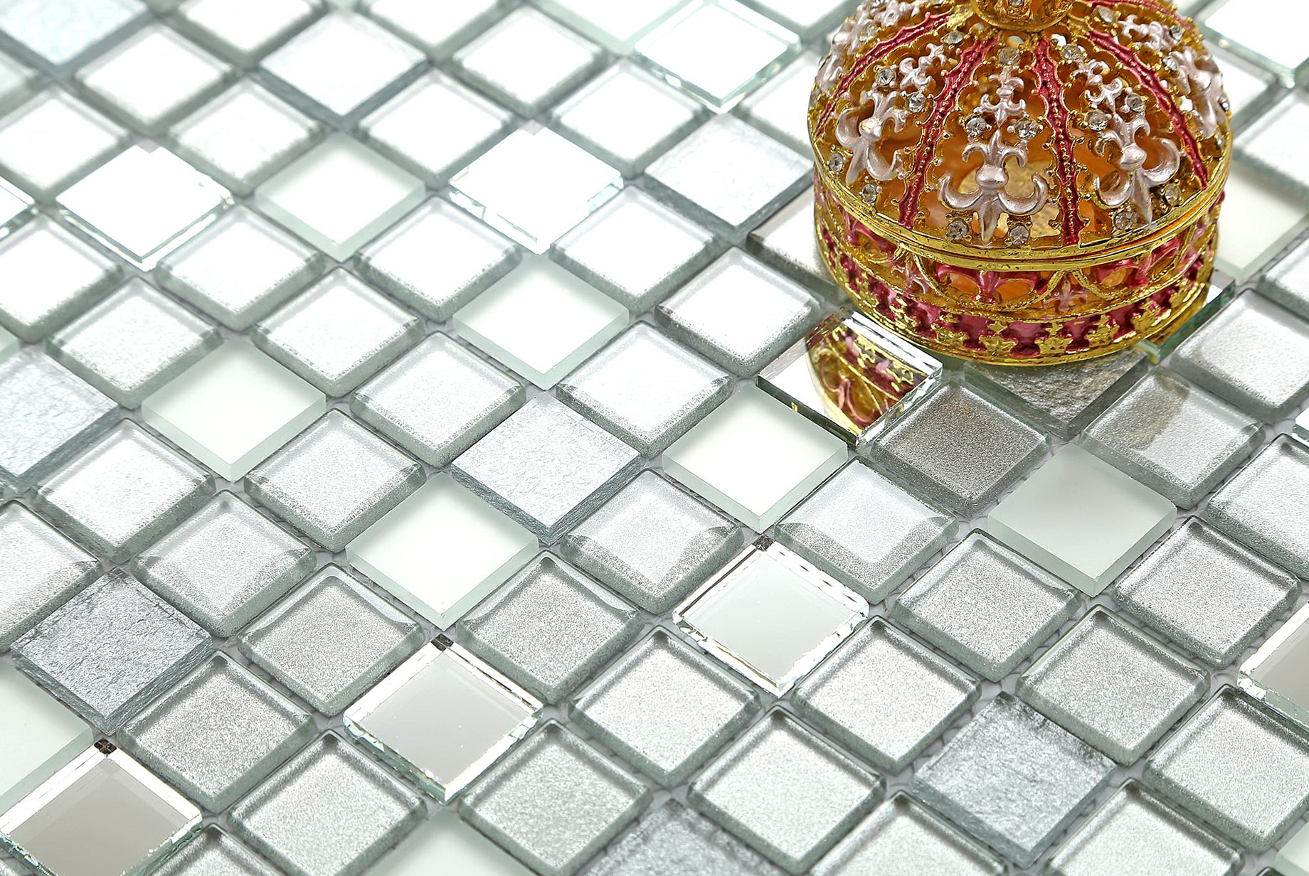 Mirror Mosaic Tiles Sheet